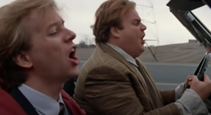 'Tommy Boy' Singing in the Car Scene - Possibly the Greatest Car Scene Ever in a Movie